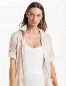 Alef Alef   אלף אלף - בגדי מעצבים   בגד גוף Roso לבן