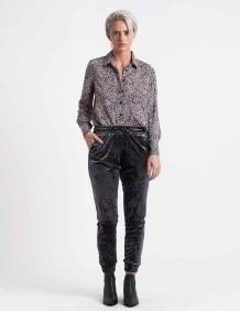 Alef Alef | אלף אלף - בגדי מעצבים | מכנסי Ray אפור כהה