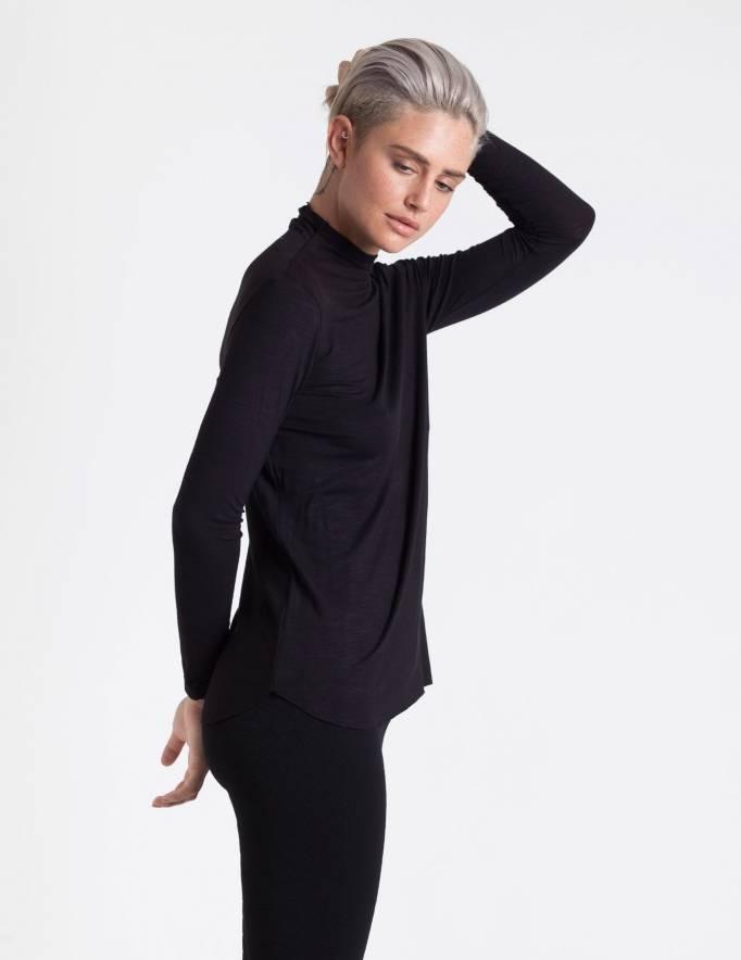 Alef Alef | אלף אלף - בגדי מעצבים | חולצת Fran שחור