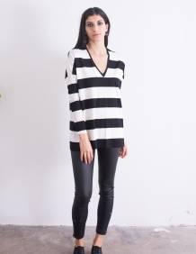 Alef Alef | אלף אלף - בגדי מעצבים | חולצת Desiree פסים