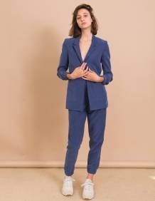 Alef Alef   אלף אלף - בגדי מעצבים   ג'קט Cher כחול