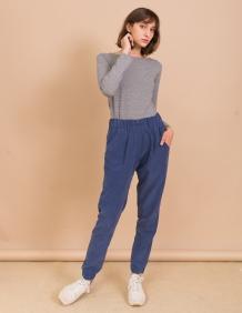 Alef Alef | אלף אלף - בגדי מעצבים | מכנסי Sony כחול