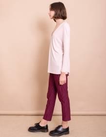 Alef Alef | אלף אלף - בגדי מעצבים | חולצת Gwen ורוד ריב