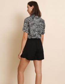 Alef Alef | אלף אלף - בגדי מעצבים | מכנסי Berry שחור