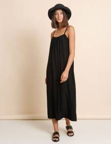 Alef Alef   אלף אלף - בגדי מעצבים   שמלת Rami שחור