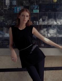 Alef Alef   אלף אלף - בגדי מעצבים   גופית Gal   שחור