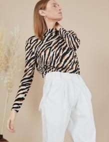 Alef Alef | אלף אלף - בגדי מעצבים | מכנסי Curie שמנת