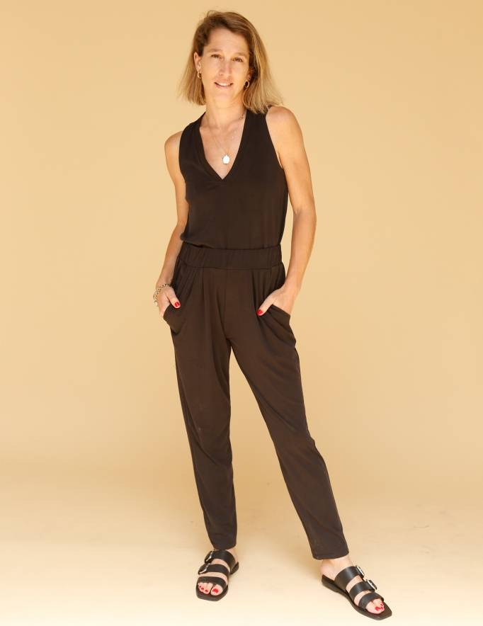 Alef Alef | אלף אלף - בגדי מעצבים | מכנסי Tenenbaum שחור