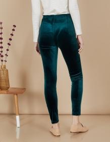 Alef Alef | אלף אלף - בגדי מעצבים | מכנסי Ang | ירוק בקבוק