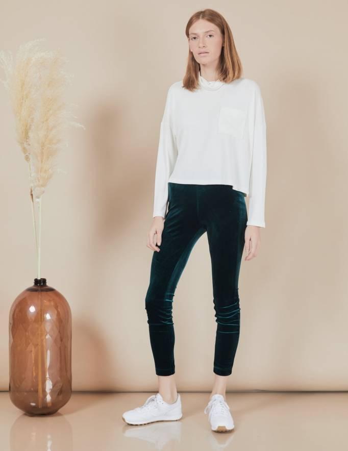 Alef Alef | אלף אלף - בגדי מעצבים | חולצת Mae | שמנת