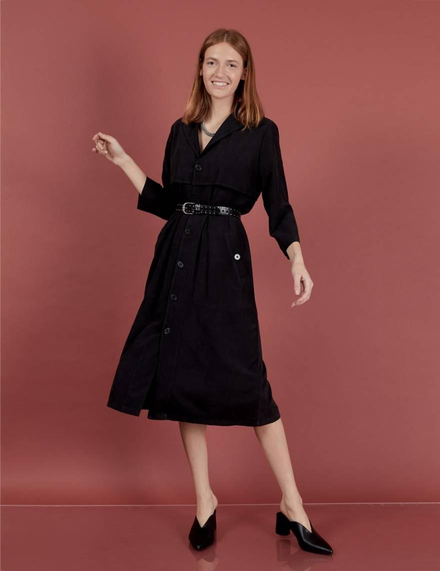 Alef Alef | אלף אלף - בגדי מעצבים | שמלת Rosa שחור