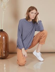 Alef Alef | אלף אלף - בגדי מעצבים | חולצת Ada | אפור