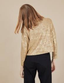 Alef Alef | אלף אלף - בגדי מעצבים | חולצת Mae | זהב