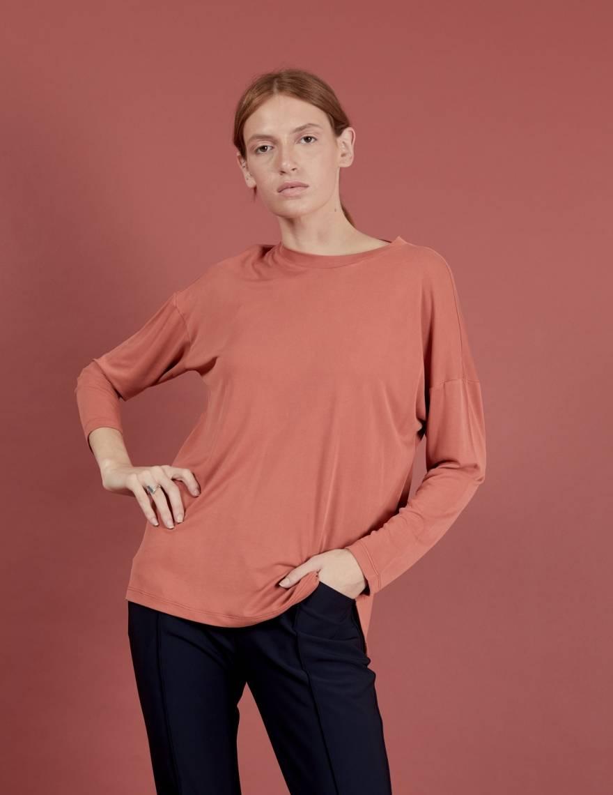 Alef Alef | אלף אלף - בגדי מעצבים | חולצת Ada | חמרה
