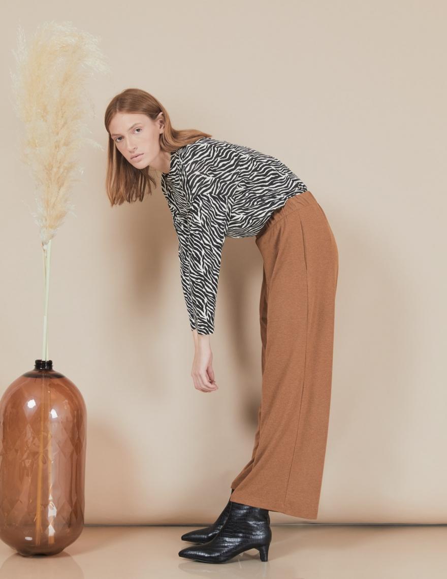 Alef Alef | אלף אלף - בגדי מעצבים | מכנסי Willie קאמל