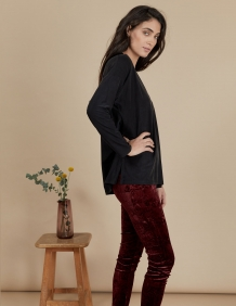 Alef Alef | אלף אלף - בגדי מעצבים | חולצת Angela שחור