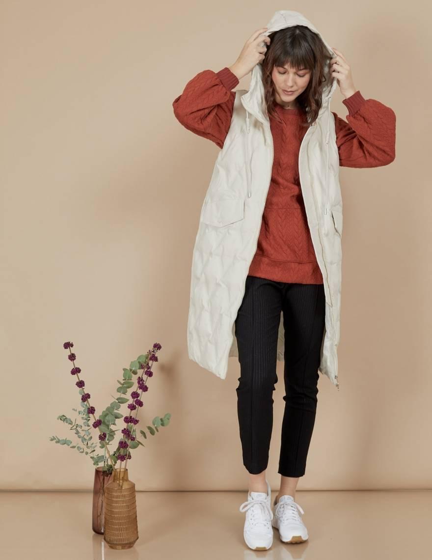 Alef Alef | אלף אלף - בגדי מעצבים | וסט Ann שמנת