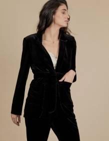 Alef Alef | אלף אלף - בגדי מעצבים | ז'קט Maria שחור