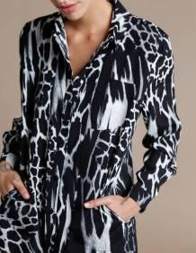 Alef Alef | אלף אלף - בגדי מעצבים | חולצת Tavor | הדפס חברבורות