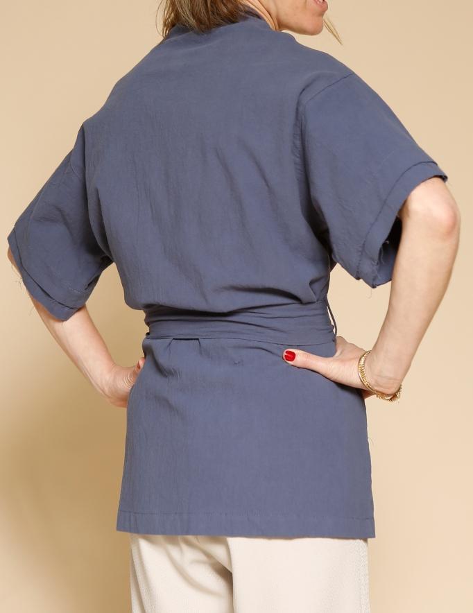 Alef Alef | אלף אלף - בגדי מעצבים | קימונו Shavit נייבי