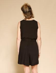 Alef Alef | אלף אלף - בגדי מעצבים | אוברול WAXMAN שחור