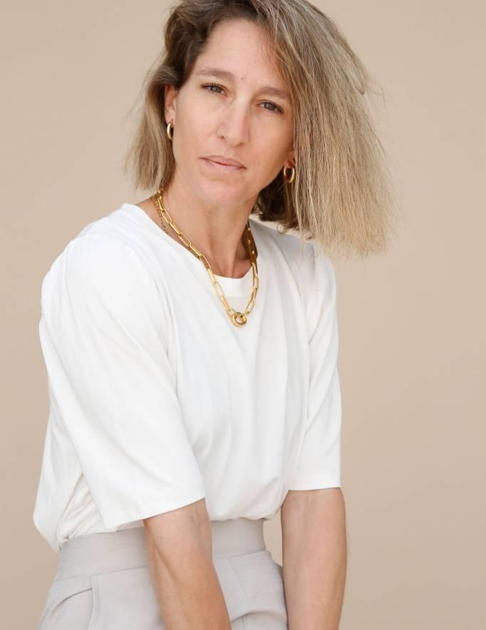 Alef Alef | אלף אלף - בגדי מעצבים | חולצת Diana שמנת