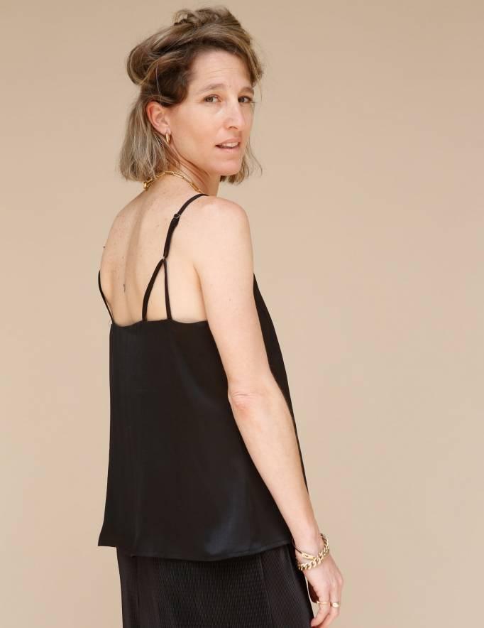 Alef Alef | אלף אלף - בגדי מעצבים | גופית Betty שחור