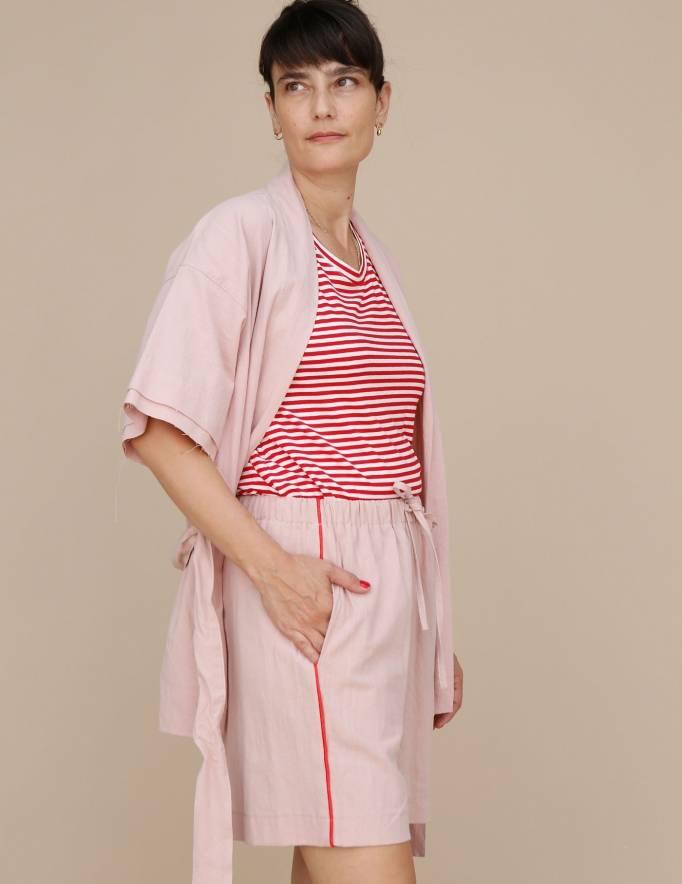 Alef Alef | אלף אלף - בגדי מעצבים | מכנסי Giladi ורוד/ אדום