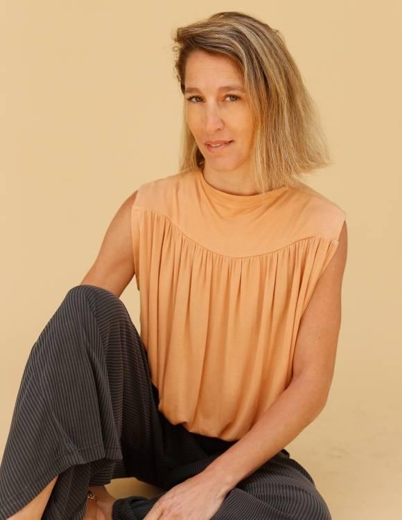 Alef Alef | אלף אלף - בגדי מעצבים | חולצת Gafni משמש