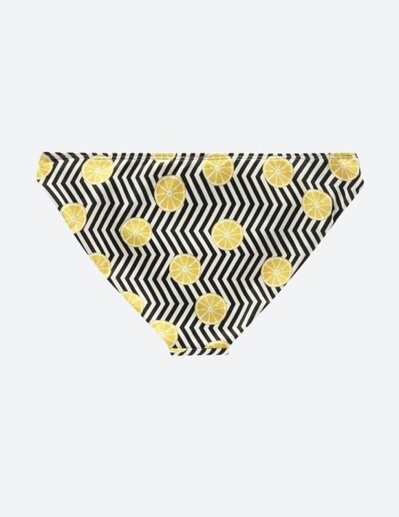 Alef Alef | אלף אלף - בגדי מעצבים | תחתון SPORT זיגזג/לימונים