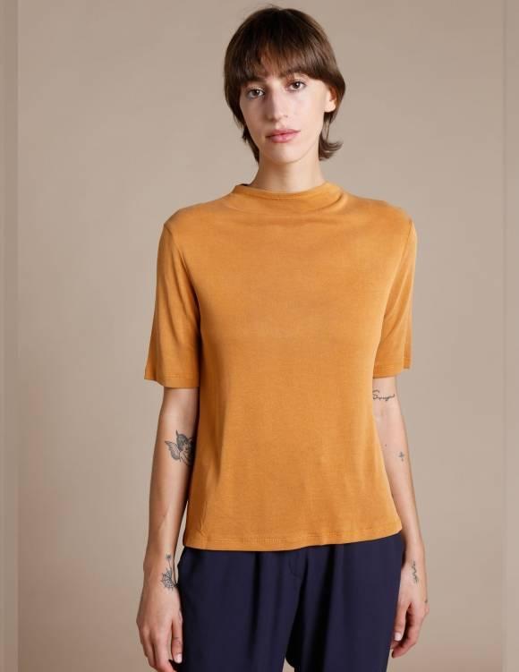 Alef Alef | אלף אלף - בגדי מעצבים | חולצת Denali חרדל