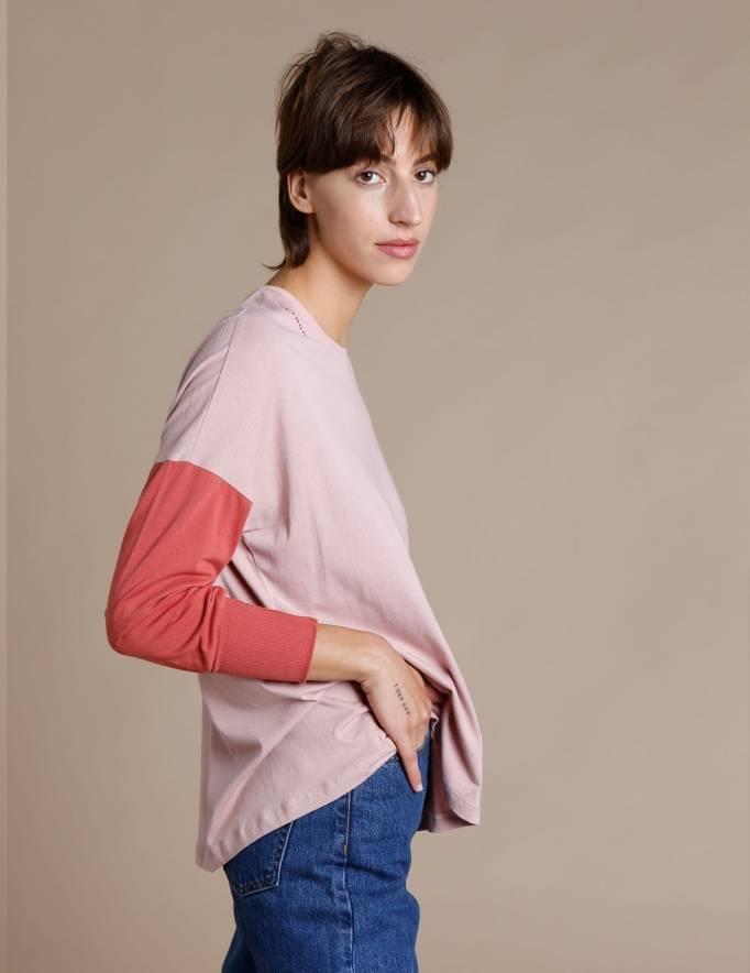 Alef Alef | אלף אלף - בגדי מעצבים | חולצת Lincoln פודרה/חמרה