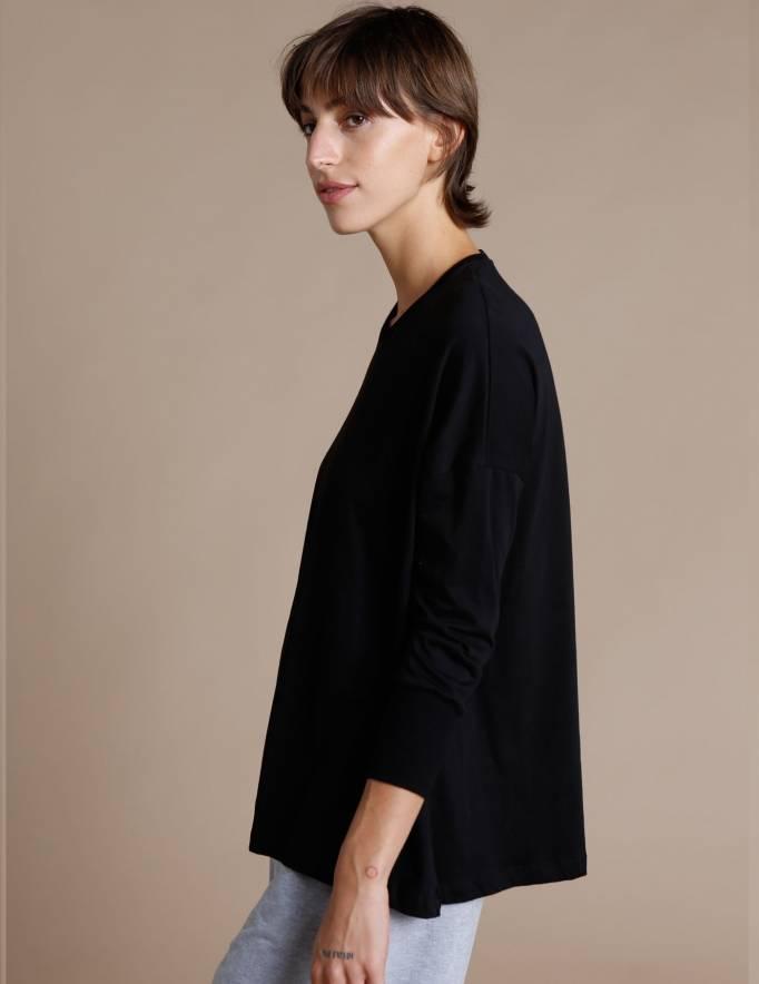 Alef Alef | אלף אלף - בגדי מעצבים | חולצת Lincoln שחור