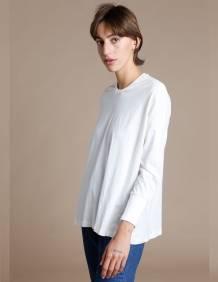 Alef Alef | אלף אלף - בגדי מעצבים | חולצת Lincoln שמנת