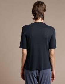 Alef Alef   אלף אלף - בגדי מעצבים   חולצת Denali שחור