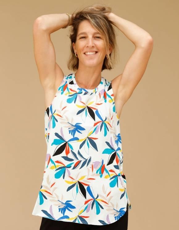 Alef Alef | אלף אלף - בגדי מעצבים | גופית LEVY דפוס צבעוני