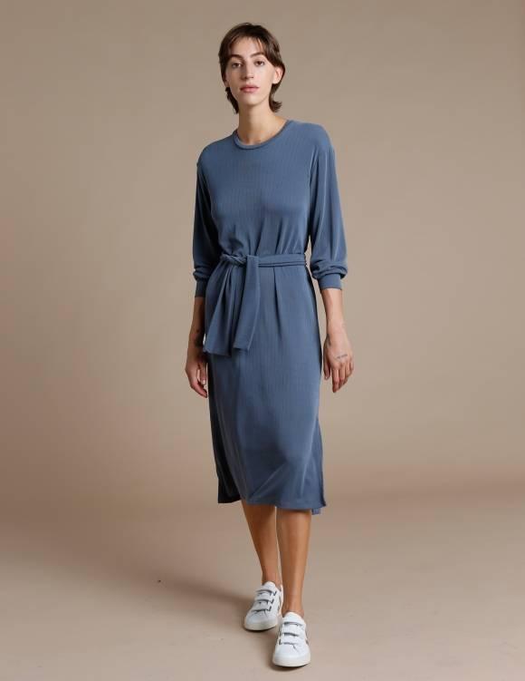 Alef Alef | אלף אלף - בגדי מעצבים | שמלת Carmel פלדה
