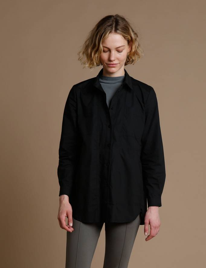 Alef Alef | אלף אלף - בגדי מעצבים | חולצת Tavor שחור