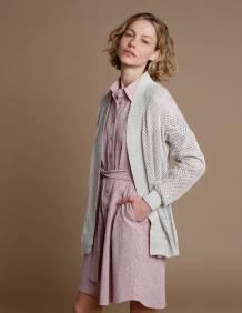 Alef Alef | אלף אלף - בגדי מעצבים | שמלת Fuji  רוז' פרינט