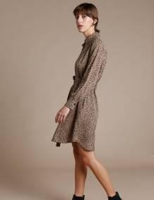 Alef Alef | אלף אלף - בגדי מעצבים | שמלת Fuji  מנומר