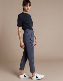 Alef Alef | אלף אלף - בגדי מעצבים | מכנסי Tenenbaum אפור כהה