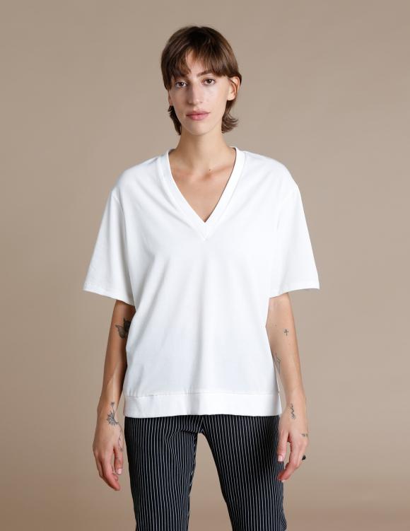 Alef Alef | אלף אלף - בגדי מעצבים | חולצת Cook שמנת