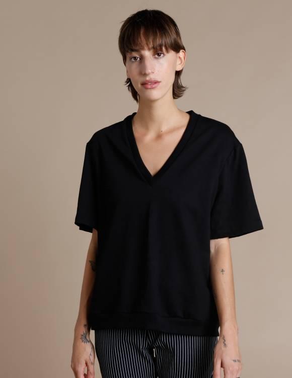 Alef Alef | אלף אלף - בגדי מעצבים | חולצת Cook שחור
