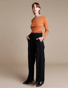 Alef Alef | אלף אלף - בגדי מעצבים | מכנסי Roy שחור