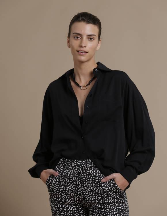 Alef Alef | אלף אלף - בגדי מעצבים | חולצת Table שחור