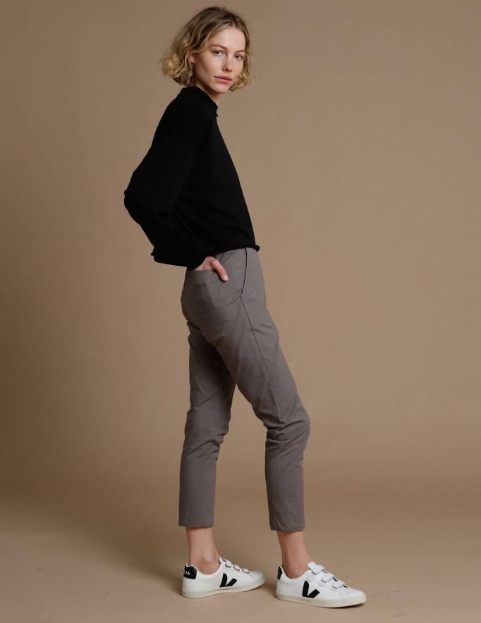Alef Alef | אלף אלף - בגדי מעצבים | מכנסי Rocky אקליפטוס