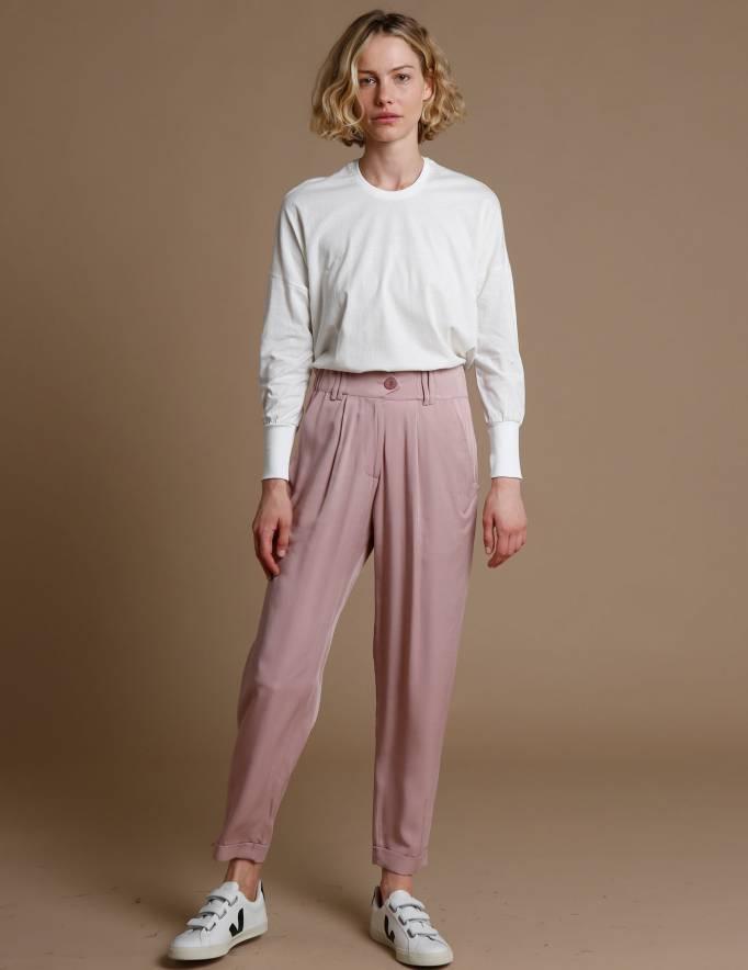 Alef Alef | אלף אלף - בגדי מעצבים | מכנסי Hermon פודרה