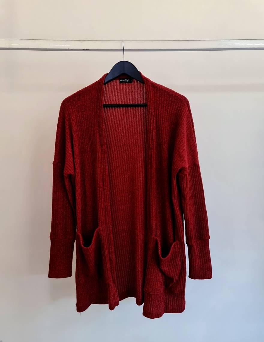 Alef Alef | אלף אלף - בגדי מעצבים | עליונית Bessie | בורדו