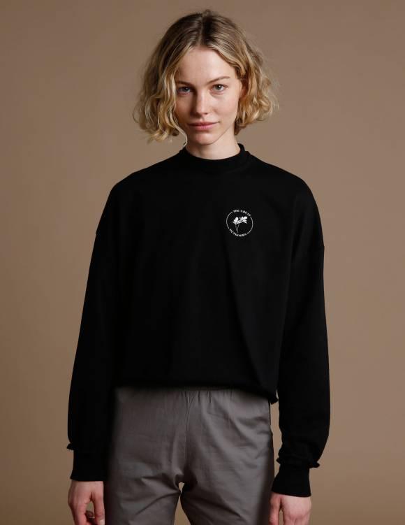 Alef Alef | אלף אלף - בגדי מעצבים | סווטשרט FITZ שחור