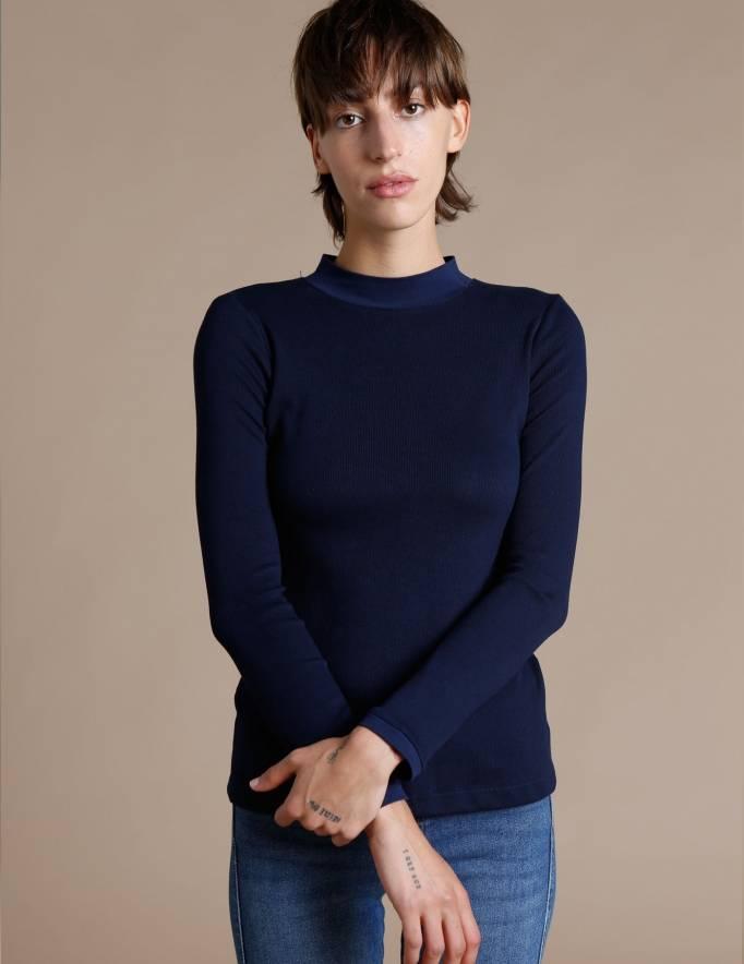 Alef Alef | אלף אלף - בגדי מעצבים | חולצת Bona נייבי